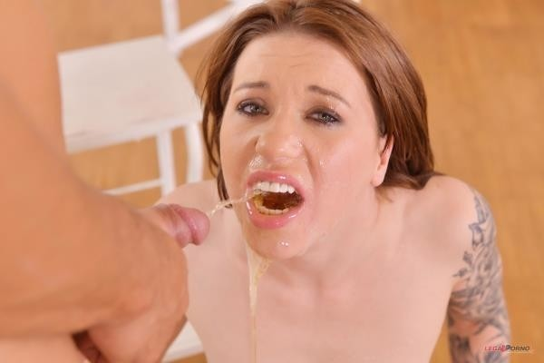 Sabrina Banks gets creampied after hard fuck by big dick