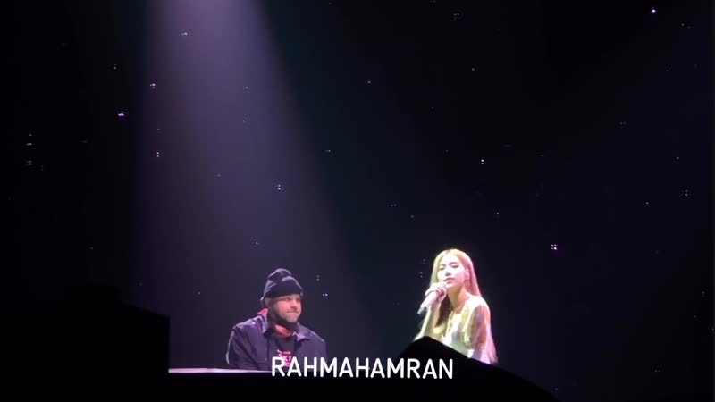 190119 ROSE solo @ BLACKPINK WORLD TOUR IN YOUR AREA in Jakarta day 1
