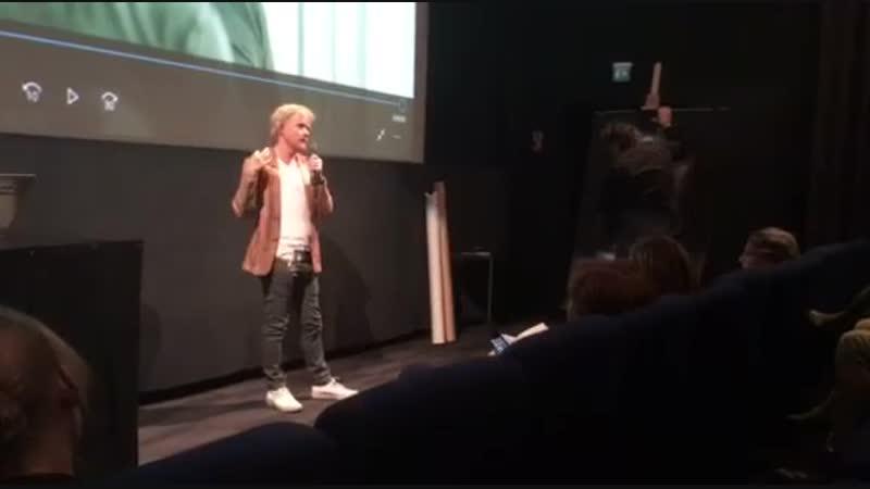 22.09.2016 Hämeenlinna, Finlandia в Elokuvateatteri Bio Rex Verkatehdas.