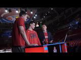 #CSKAbasketShow: Семен Антонов, Александр Хоменко, Виктор Кейру, Сергей Карякин и Никита Загдай