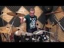 Тренировка игры на барабанах «Blur - song 2»