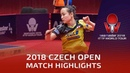 Mima Ito vs Zhang Rui   2018 Czech Open Highlights (R32)