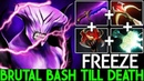 Freeze [Faceless Void] Brutal Bash Till Death Crazy Game 7.19 Dota 2