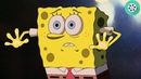 Человек в скафандре похищает Спанч Боба и Патрика. Губка Боб – квадратные штаны (2004) год.