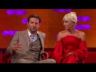 Леди Гага на шоу «The Graham Norton Show» (2018)