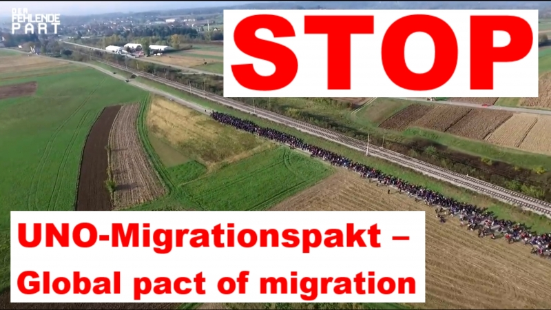 UNO-Migrationspakt – Global pact of migration