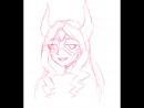 Рисую перса из аниме по запросу 3 это всего лишь скетч ног я арт дорисую 3 прочитайте Описание для меня это важно 3