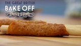 How to Shape Brandy Snaps - The Great British Bake Off