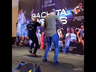 Ataca и Максим Щербаков. Бачата футворк