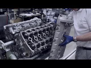 Производство двигателя bentley w12 💣
