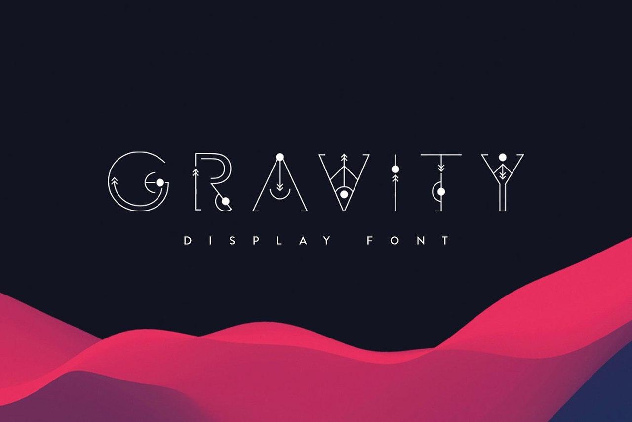 Шрифт - Gravity