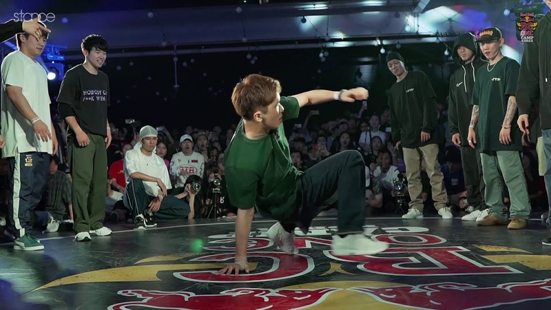 Gamblerz Fusion Mc vs Jinjo Rivers l Red Bull BC One camp Kore .stance
