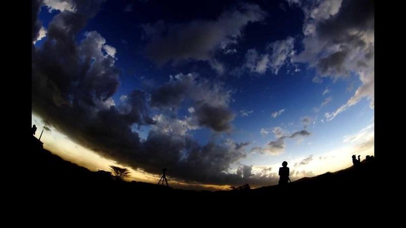 Звёздное небо Кении и затмение 2013 часть 2