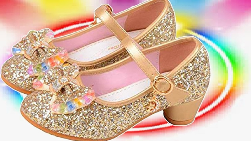 20 Ballerina Flat Shoes for Girls kids Mary Jane 2019 Dress Shoes Princess in amazon shopping online