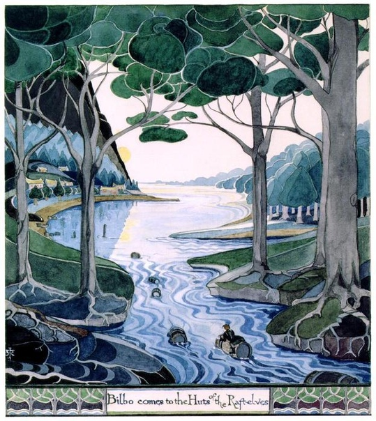 Рисунки Джона Толкина