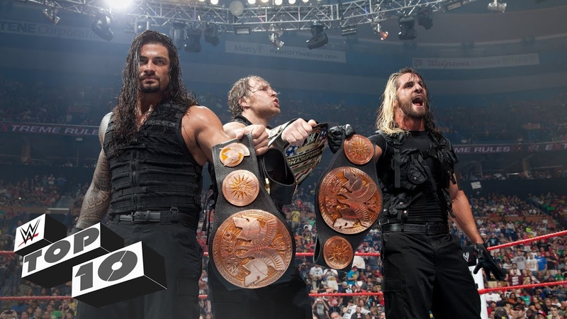 The Shield's Biggest Victories: WWE Top 10, April 20, 2019