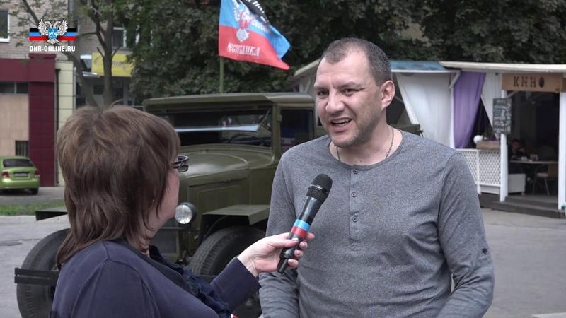 Виталий Лясников рассказал о съемках фильма Ополченочка