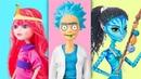 Косплей кукол / 6 лайфхаков и поделок для кукол Барби и Эвер Афтер Хай