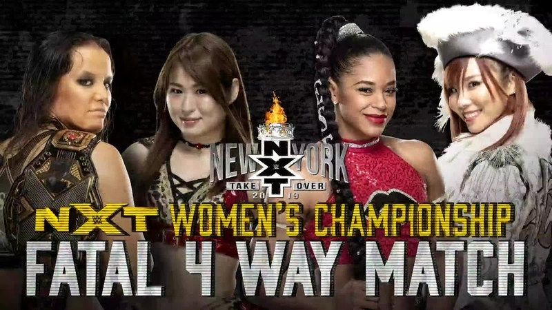 NXT Women's Title on the line in Fatal 4-Way Match at TakeOver: New York