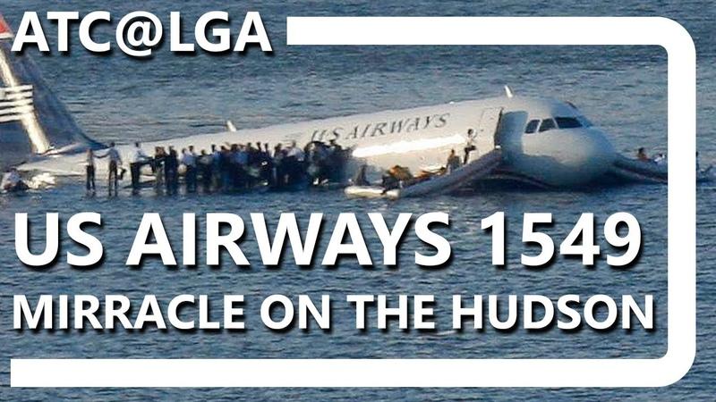 ATC@LGA - Flight 1549 [COMPLETE TRANSCRIPT]