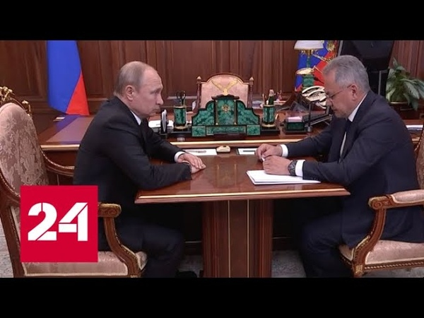 Большая потеря для флота и армии: Шойгу доложил Путину о гибели моряков-подводников - Россия 24