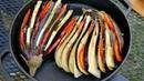 БАКЛАЖАНЫ с СЫРОМ и ПОМИДОРАМИ на МАНГАЛЕ | Вкуснее чем овощи гриль