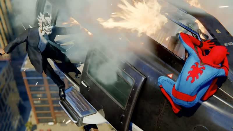 Человек паук спасает город от падения вертолета ► Marvels Spider Man ► Прохождение 6