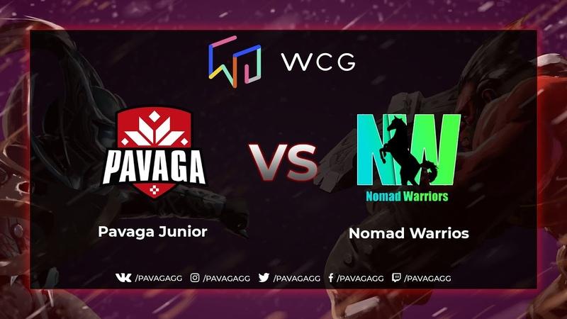 Pavaga Junior vs Nomad Warriors   WCG Regional Oualifier