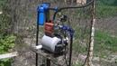Автономный водопровод . Летний вариант .