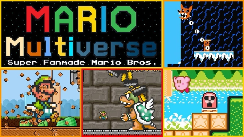 10 MORE Mario Multiverse Beta Levels!