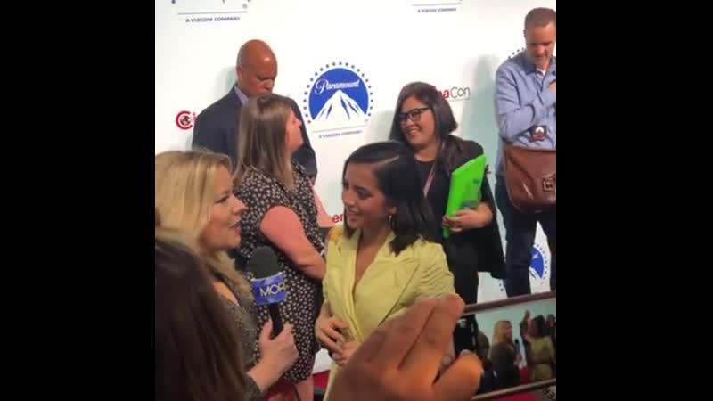 4 апреля: Интервью «Paramount Pictures CinemaCon® 2019 Presentation»
