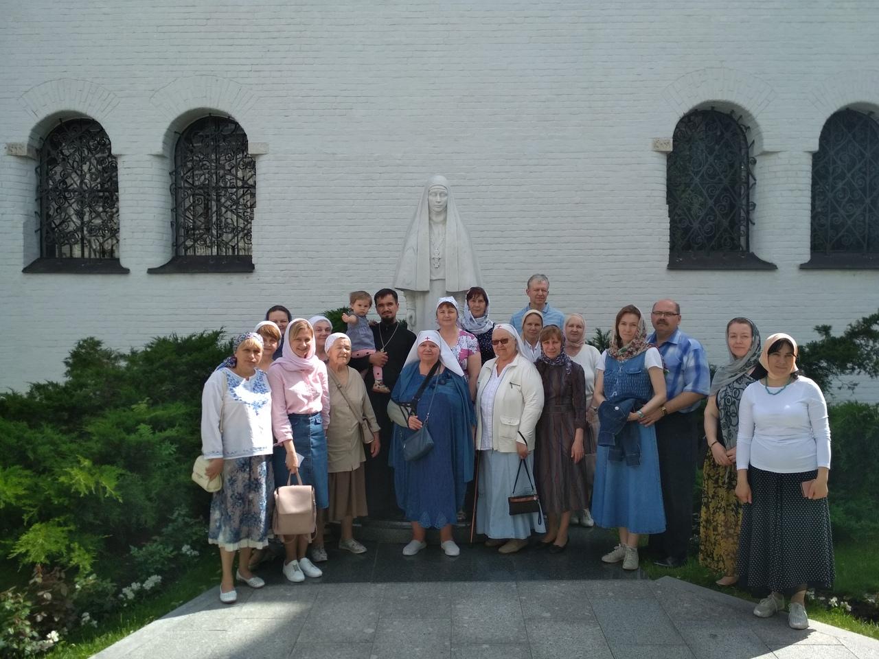 Поездка в Марфо-Мариинскую обитель милосердия
