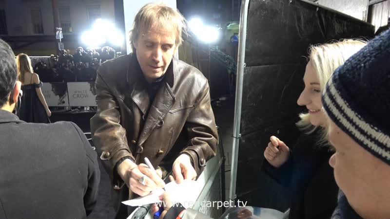 Rhys Ifans at The White Crow, UK Premiere, London