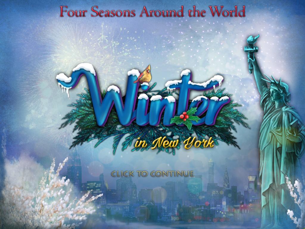 Четыре сезона разных стран мира: Зима в Нью-Йорке | Four Seasons Around the World: Winter in New York (En)