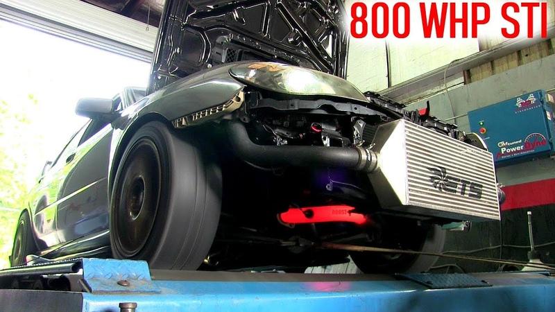 800 whp Subaru WRX STI 6466 flex fuel dyno tuning and first drive