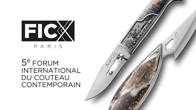 FICX-Paris 2018 | Le Forum International du Couteau Contemporain | 5e édition | Paris Knife Show