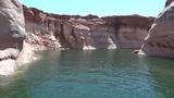 Lake Powell boat trip Reflection Canyon AZ