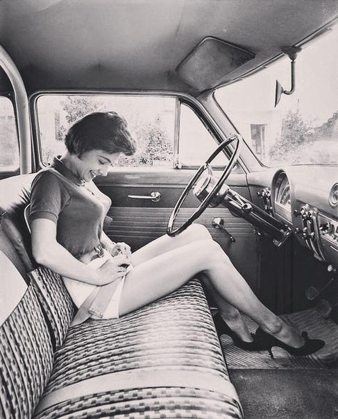 Когда авто были большими, 1950-е.
