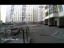 Взрывной волной выбило окно на Мехренцева 46