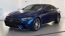 Антигравийная защита матовой пленкой Mercedes-Benz GT AMG 63S