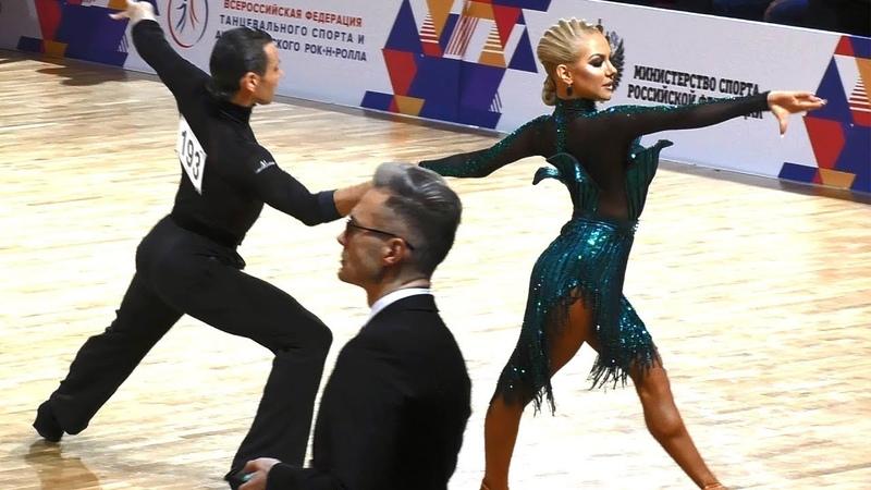 Армен Цатурян Светлана Гудыно = Румба = 2019 Чемпионат России