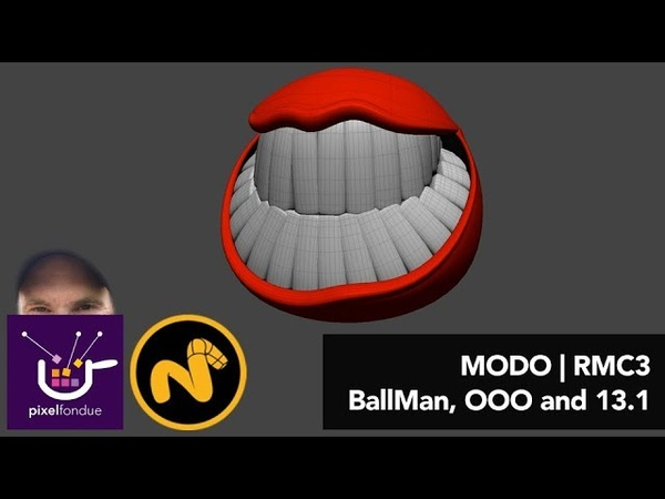 MODO | Rigging BallMan, OOO and Modo 13.1