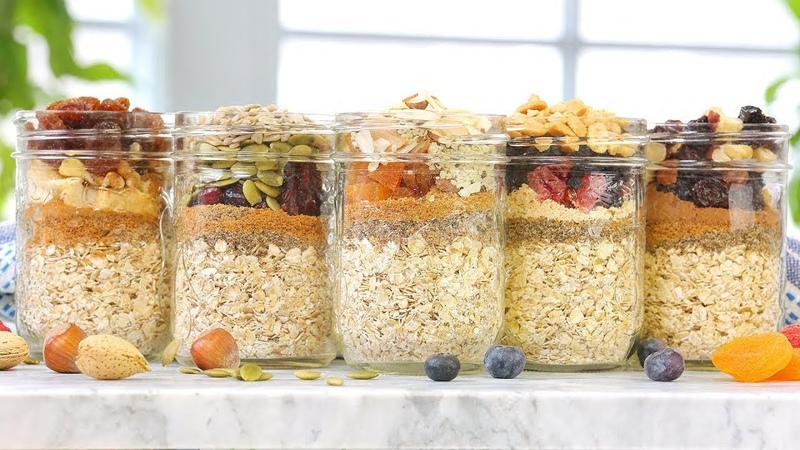5 Instant Oatmeal Recipes Make Ahead Breakfasts