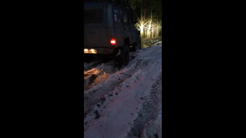 Дракоша кочует по снегам)