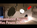 We explorer an abandoned hospital with the power supply on everything left behind!!
