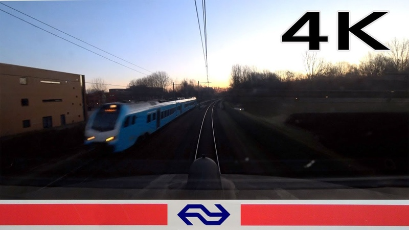 4K CABVIEW HOLLAND Amersfoort - Enschede ICM 25feb 2019