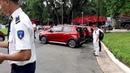 Lễ bàn giao xe ô tô Vinfast nhãn hiệu Fadil của Vingroup Phạm Nhật Vượng tại Dinh Thống Nhất