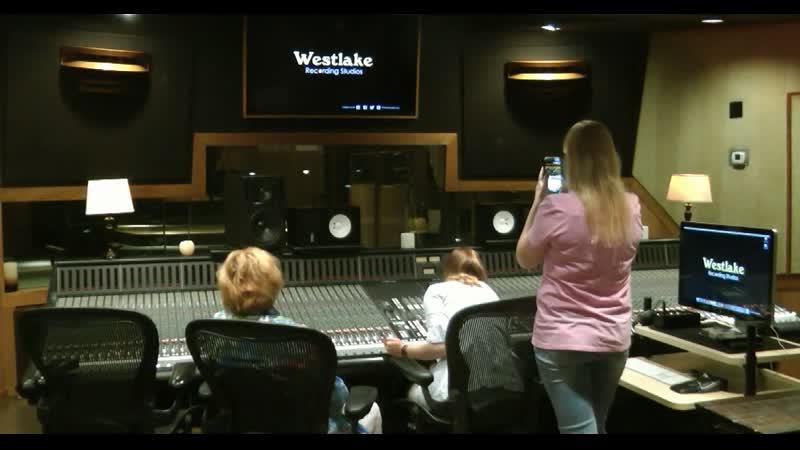 Visit to Westlake Recording Studios (Studio D) - Santa Monica Blvd. West Hollywood, - May 6, 2019