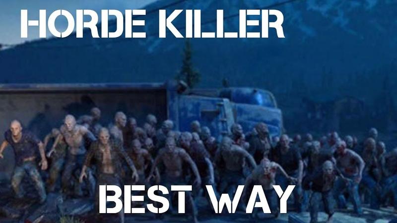 DAYS GONE HORDE KILLER EASILY - BEST STRATEGY FOR ALL HORDES [ Stealth , Smart Easy Way ]
