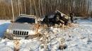 битва jeep rubicon jeep grand cherokee land cruiser prado на offroad